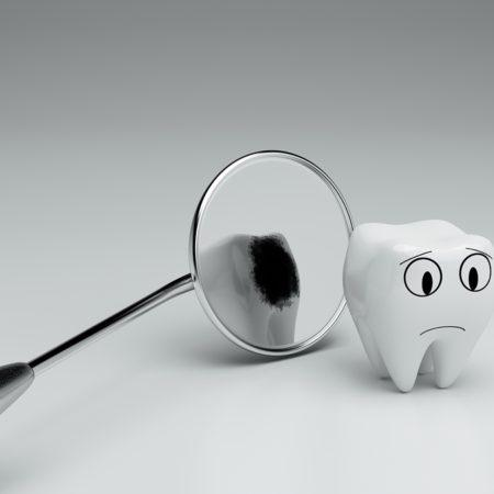 3d realistic render, concept of dental caries How Does Sugar Affect Your Teeth