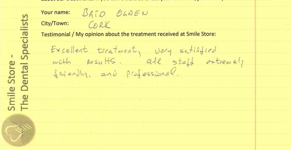 Brid Olden Reviews Smile Store