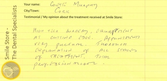 Colette Murphy Reviews Smile Store