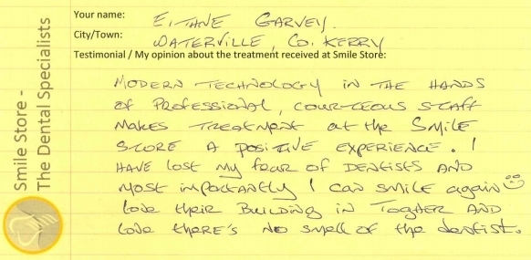 Eithne Garvey Reviews Smile Store
