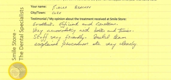 Fiacra Bracken Reviews Smile Store