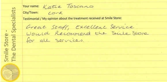 Katie Toscano Reviews Smile Store