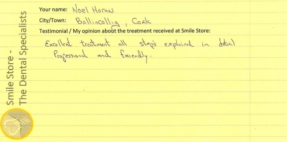 Noel Horan reviews Smile Store