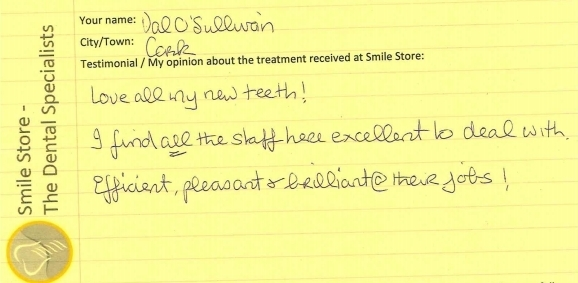 Val O'Sullivan Reviews Smile Store – The Dental Specialists