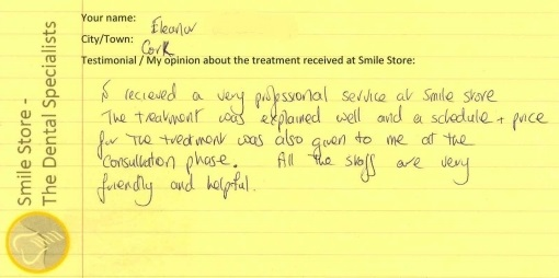 Eleanor From Cork Reviews Smile Store