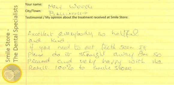 Mary Woods Reviews Smile Store