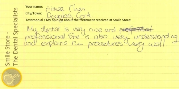 Aimee Reviews Treatment At Smile Store