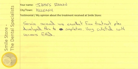 James Rohan Reviews Smile Store