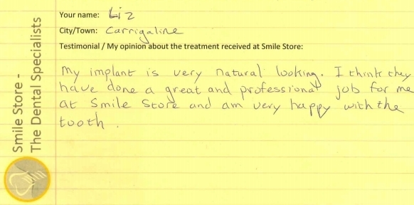 Liz From Carrigaline Reviews Smile Store