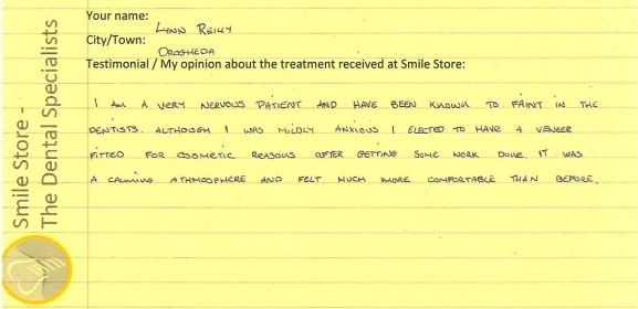 Lynn Reilly From Drogheda Reviews Smile Store
