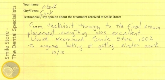 Mark From Cork Reviews Smile Store