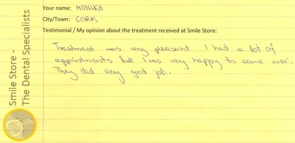 Monika Reviews Smile Store – The Dental Specialist