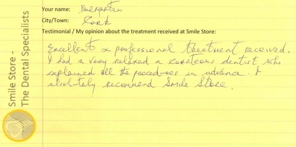 Paul Martin Reviews Smile Store