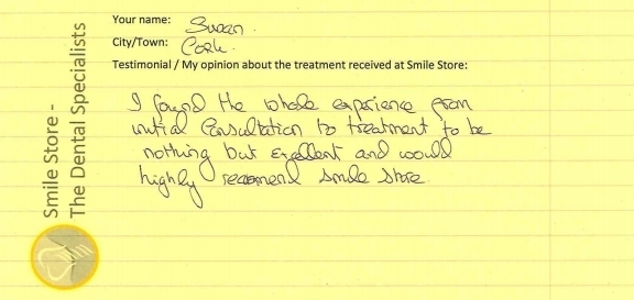 Susan From Cork Reviews Smile Store